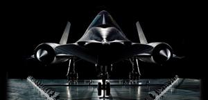SR-71 Wallpaper Dark HD HQ