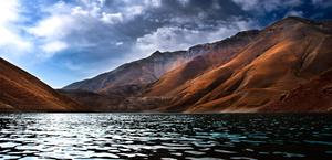 Tar Lake, Davmand, Iran HD Wallpaper