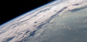 Thunderstorms from Space HD wallpaper