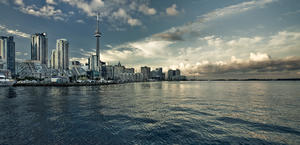 Toronto Canada Skyline High Quality Wallpaper