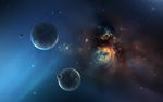 Dark Universe Space Wallpaper