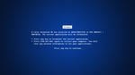 PC wallpaper high resolution blue screen of death
