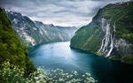 Geirangerfjorden, Norway HD Wallpaper