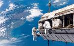 ISS over the South Island of New Zealand