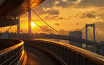 Odaiba Rainbow Bridge HD Wallpaper