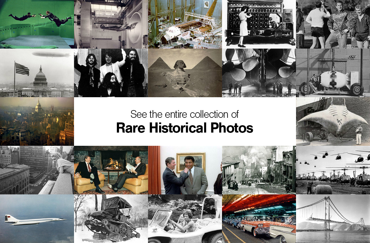 "Click here to see the entire collection of ""Rare Historical Photos"""
