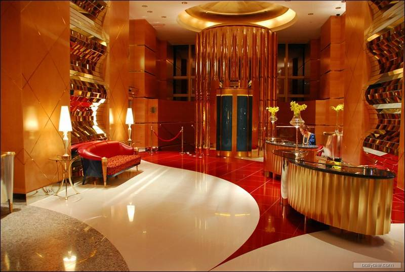 The luxurious interiors of burj khalifa i like to waste for The most expensive hotel in the world dubai