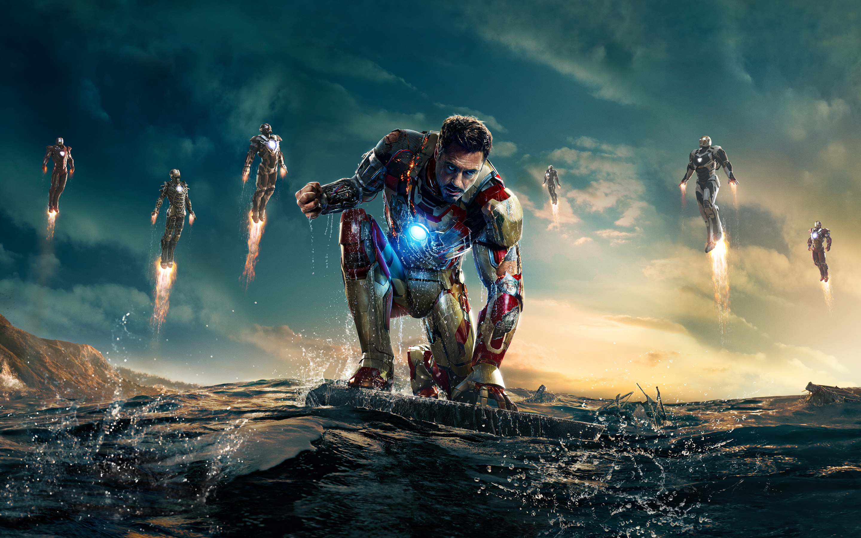 Iron man 3 live wallpaper hd free download of android version.