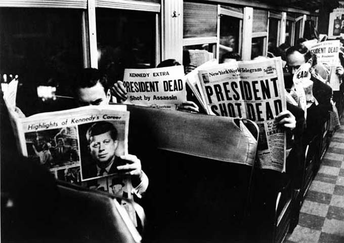 November 22 1963 Newspaper Front Pages