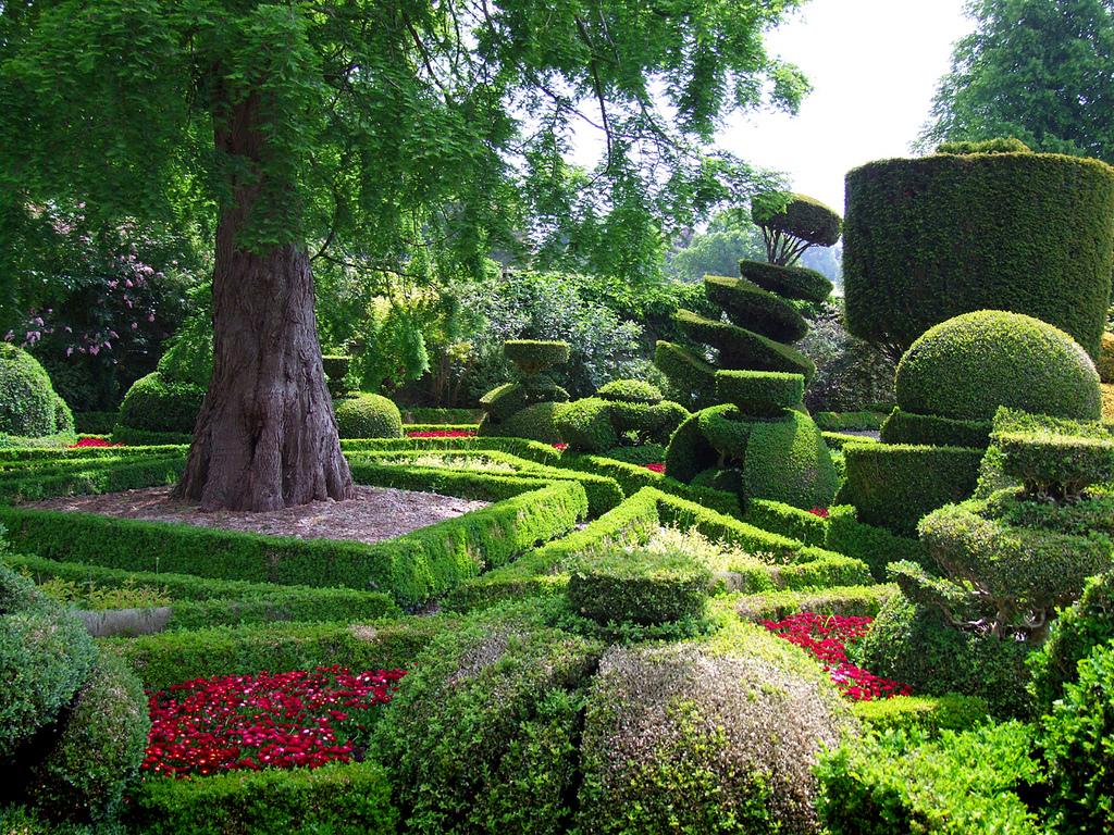 Stunning beauty of levens hall garden uk 9 pics i for Garden pictures