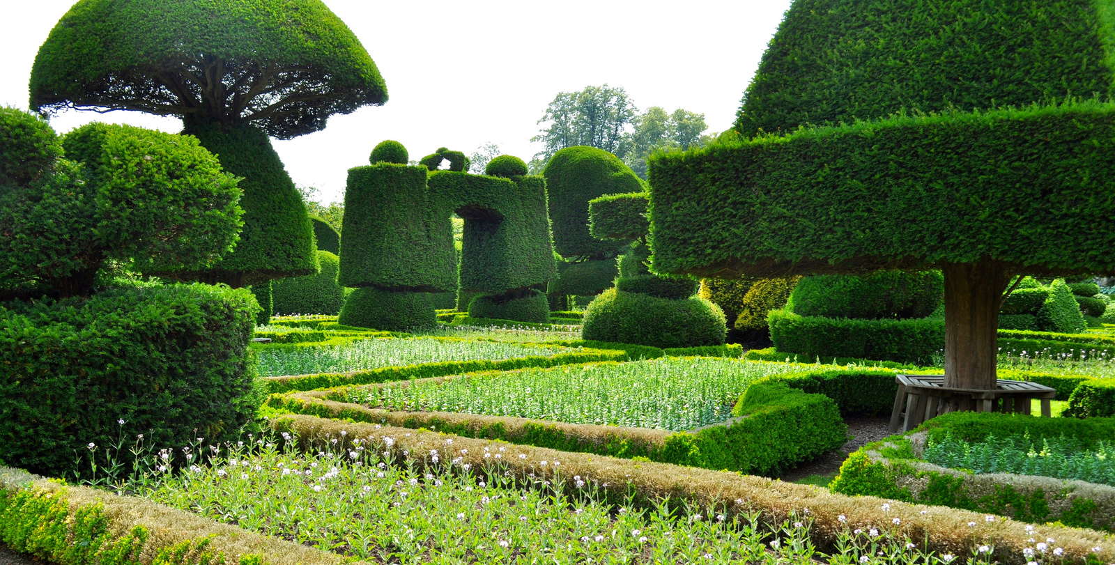 Gardens Images stunning beauty of levens hall garden, uk [9 pics] | i like to