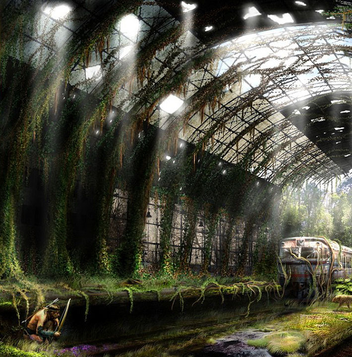 Life After The Apocalypse By Vladimir Manyuhin [17 Pics