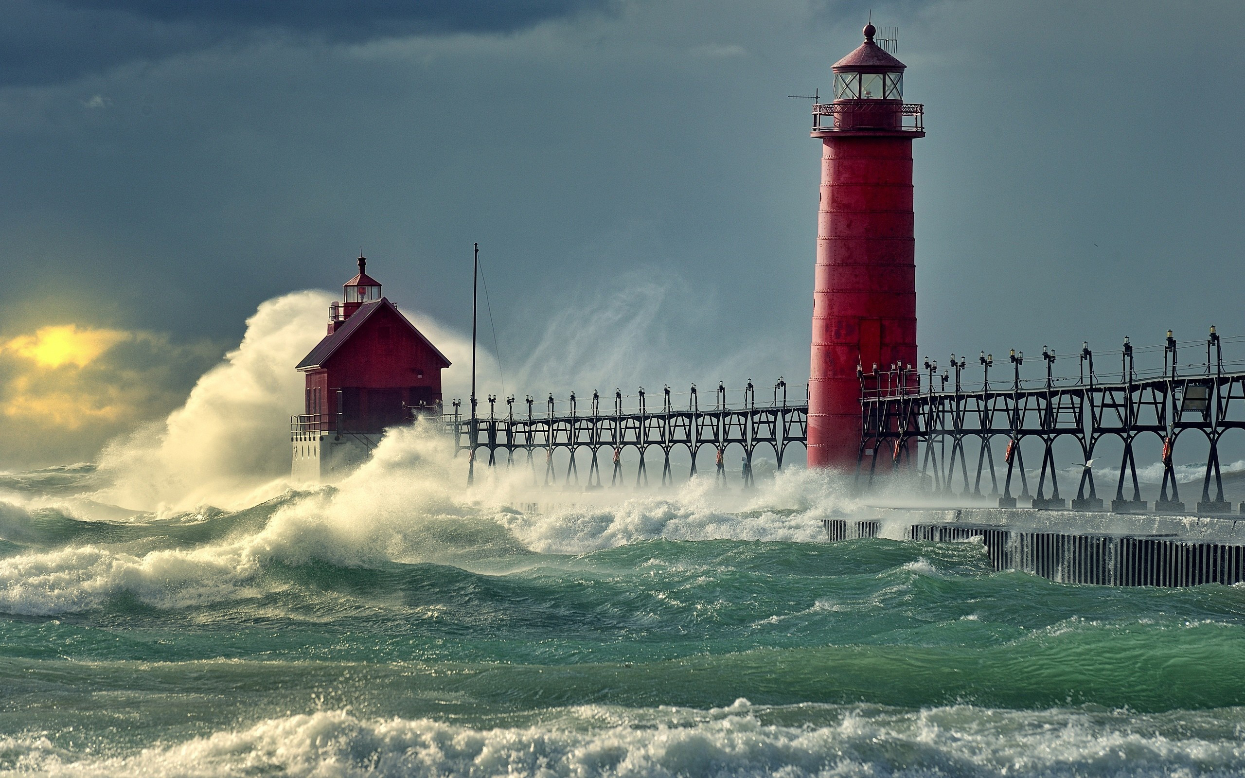 I Like To Waste My Time: Daily Wallpaper: Lighthouse