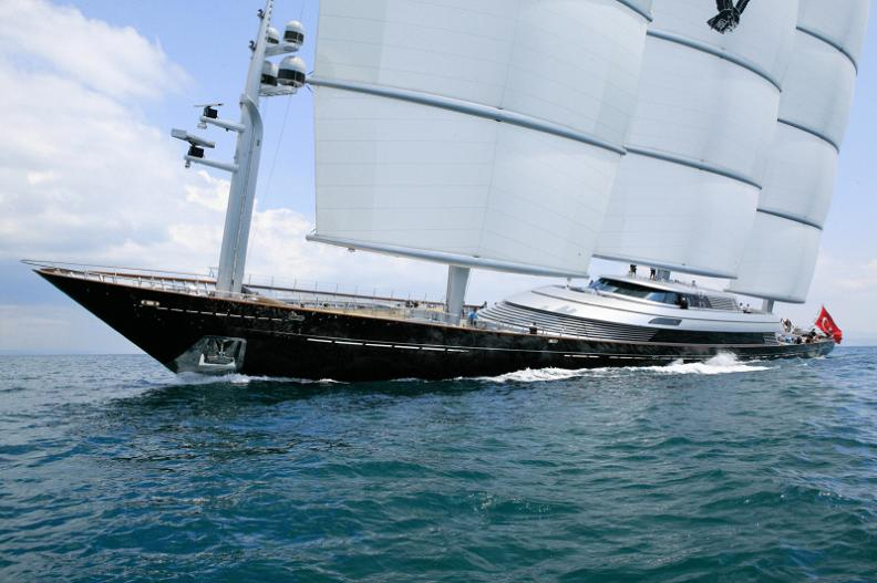 Most Expensive Sailing Yacht In The World