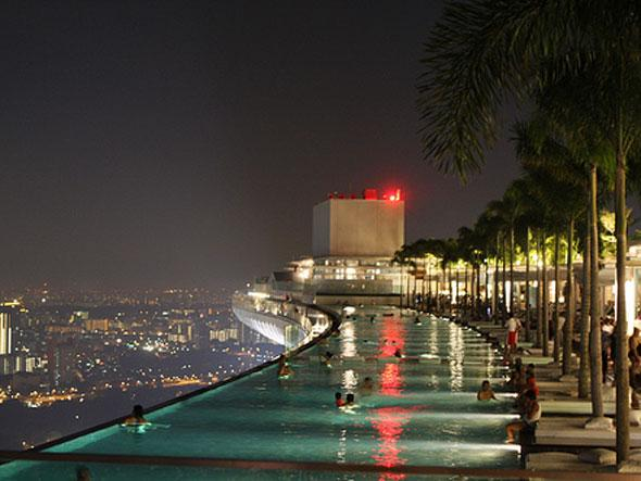Marina bay sands hotel singapore i like to waste my time for Piscina singapur