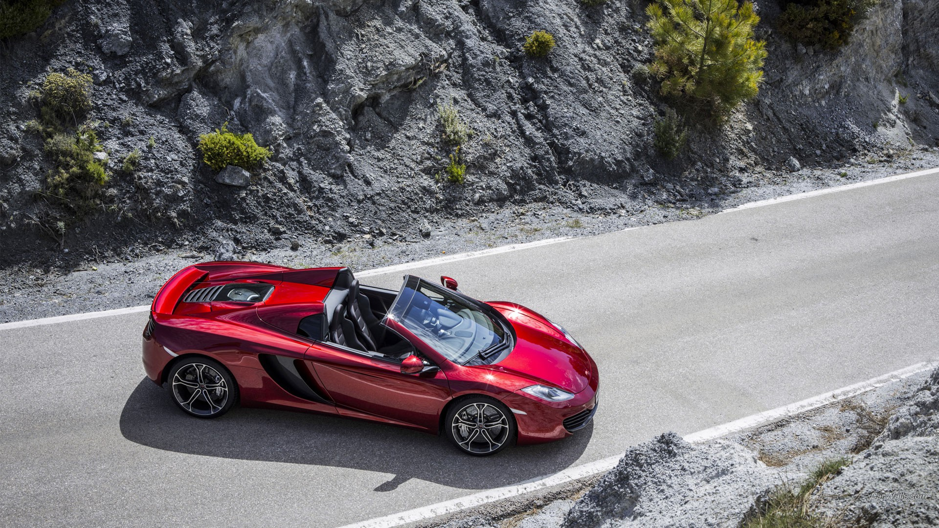 Daily wallpaper 2013 mclaren mp4 12c spyder i like to waste my time publicscrutiny Choice Image