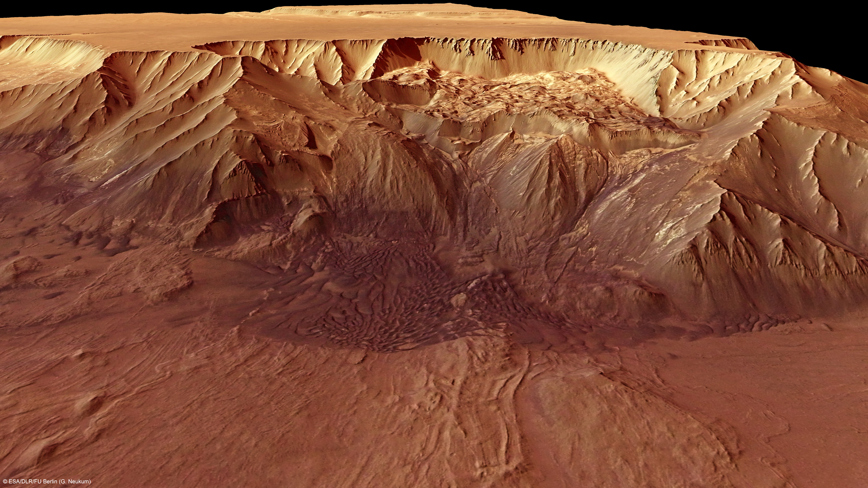 A Demon's Face Found in the Deepest Valley on Mars [6 Pics ...
