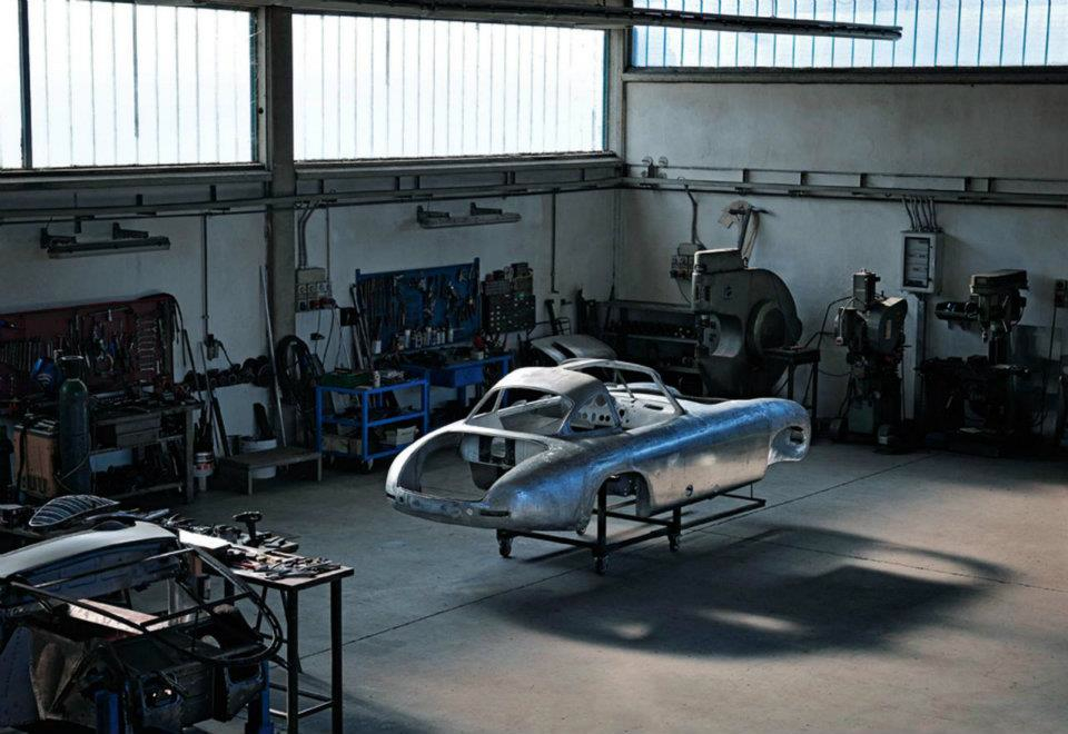 A mind blowing restoration of the 2nd 300 sl ever made 14 for Mercedes benz restoration center