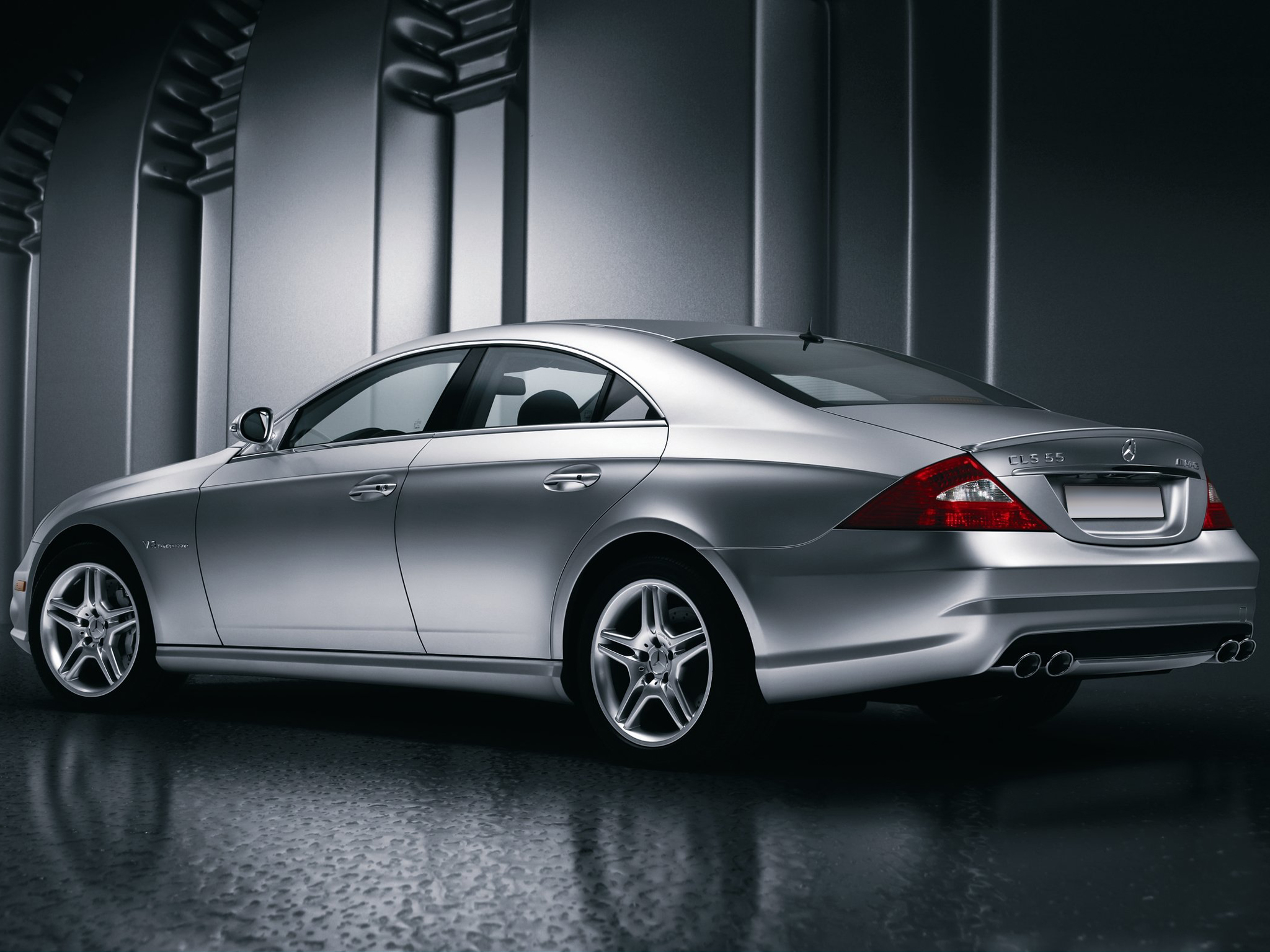daily wallpaper mercedes benz cls 55 amg i like to waste my time. Black Bedroom Furniture Sets. Home Design Ideas