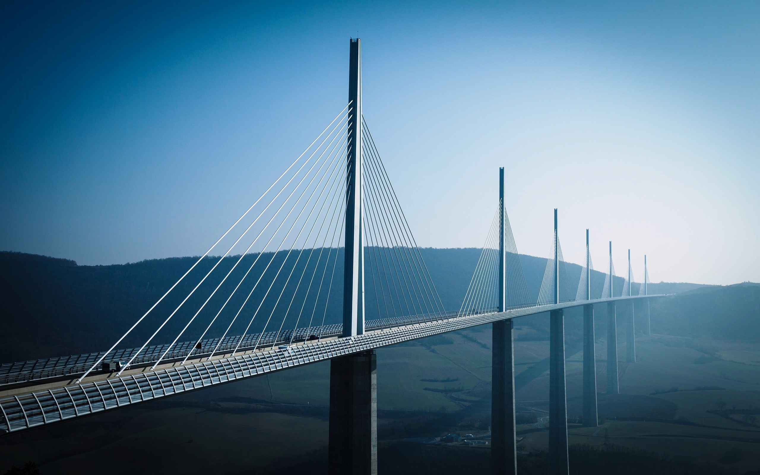 Daily Wallpaper Millau Viaduct France