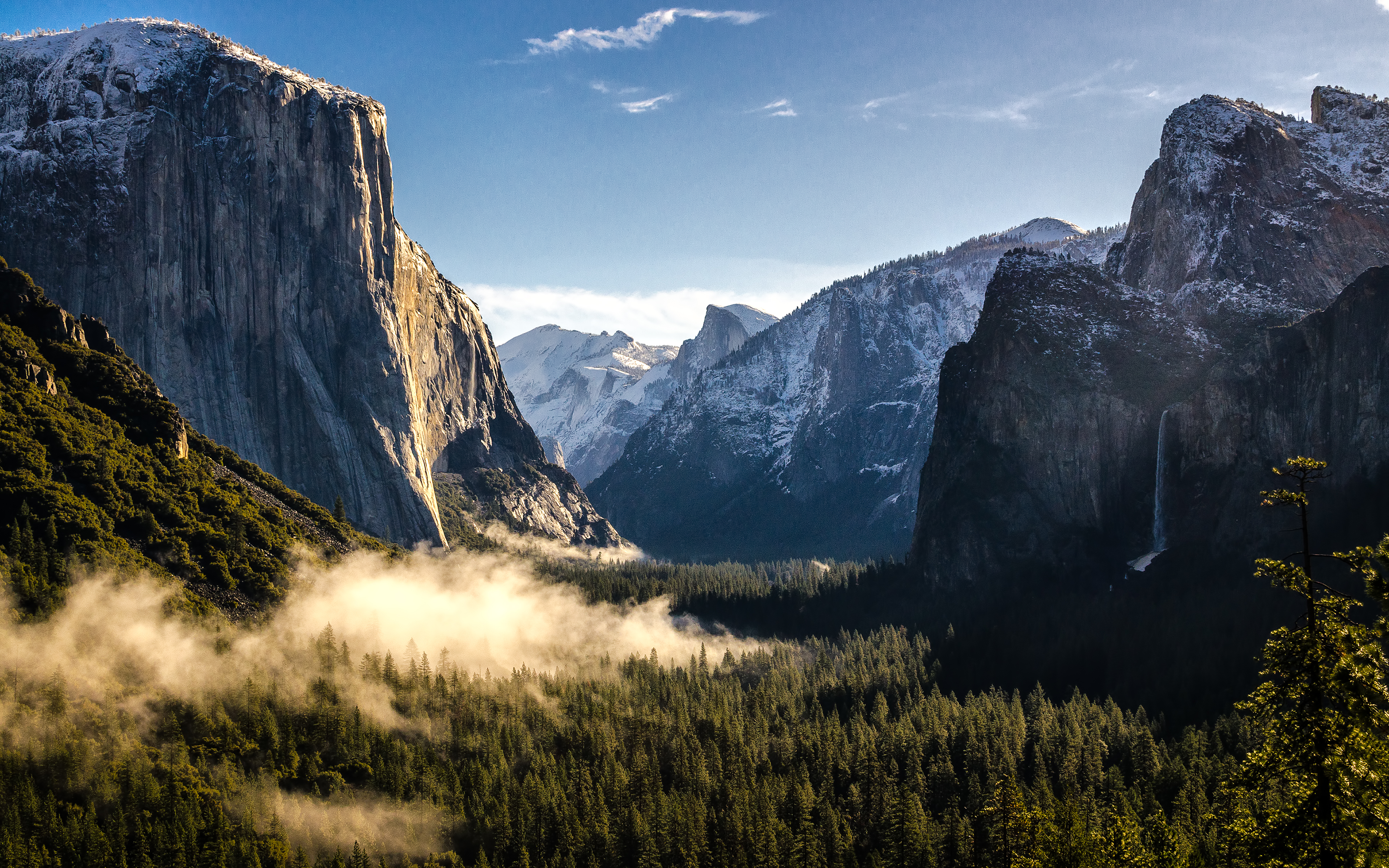 Cool Pictures Of Cars >> Daily Wallpaper: Yosemite National Park in the Morning | I Like To Waste My Time