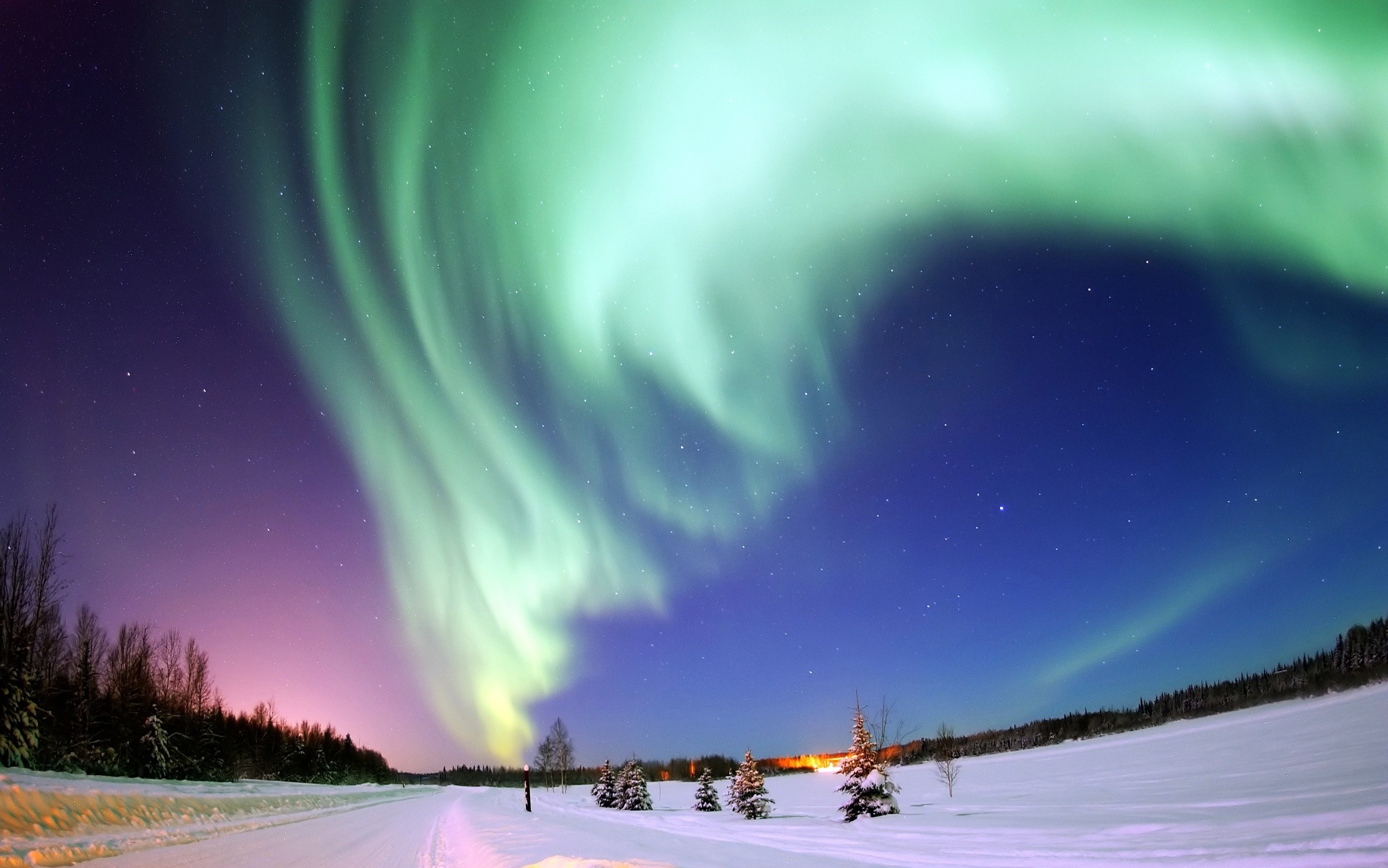 Daily Wallpaper Northern Lights