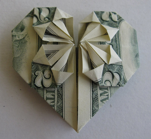 Stunning Origami Made Using Only Money I Like To Waste My Time