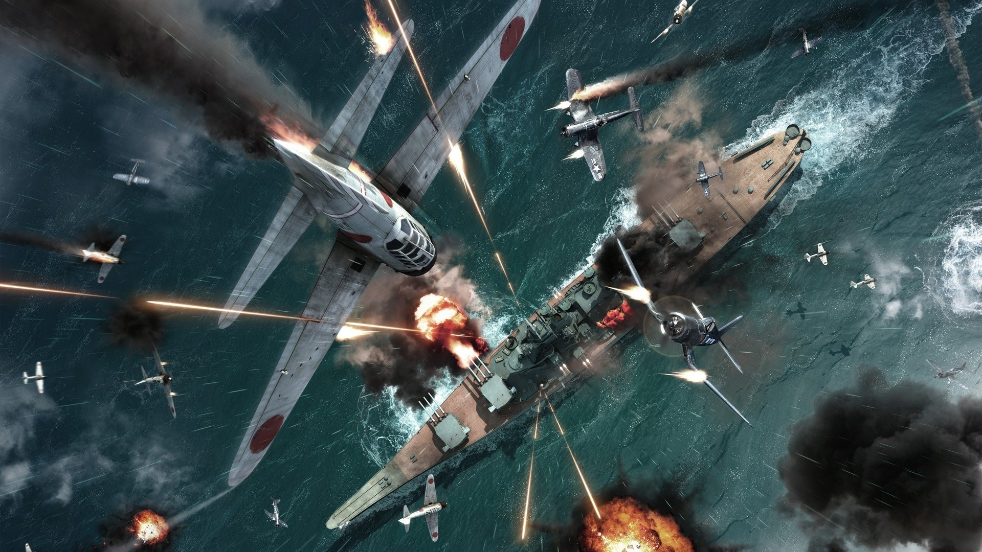Daily Wallpaper Pacific Battle Illustration  I Like To Waste My Time