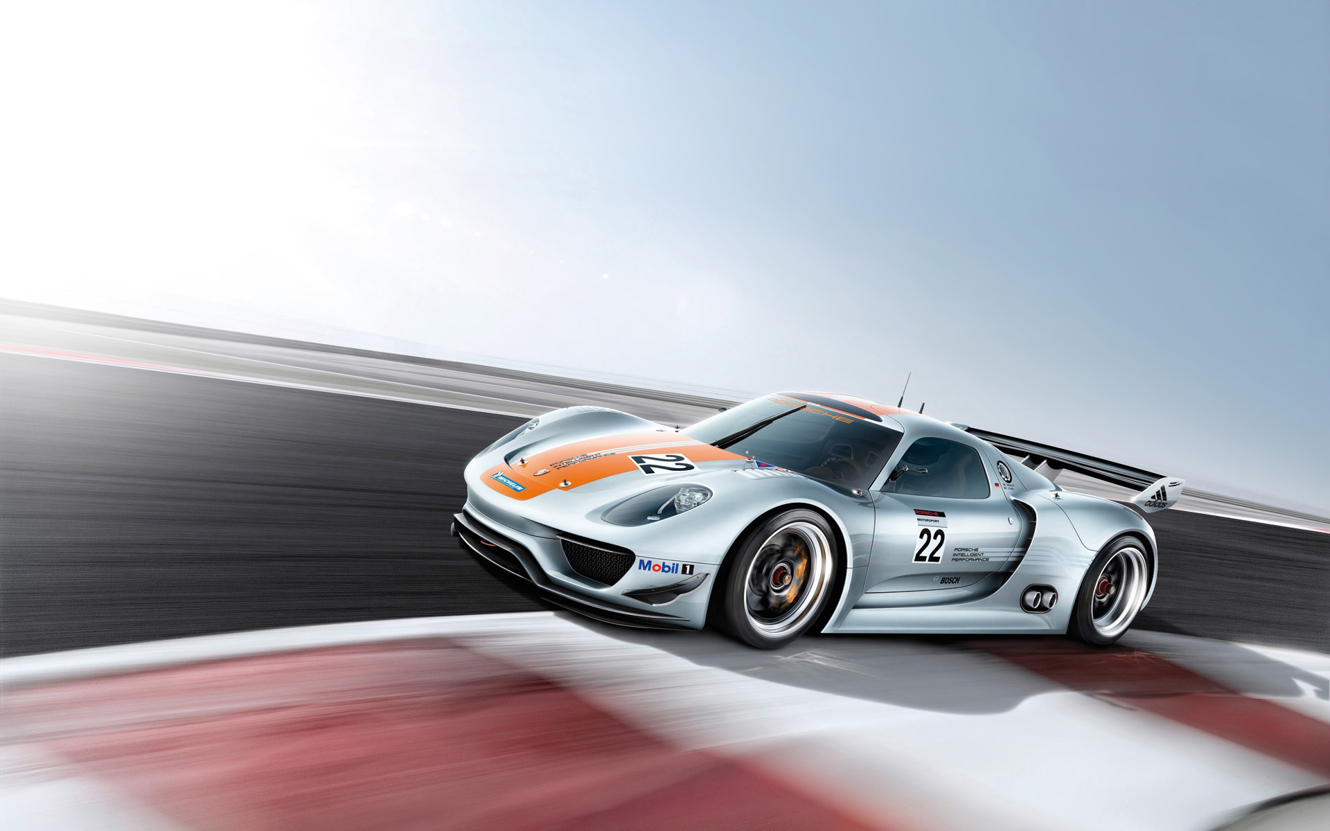 Daily Wallpaper Porsche 918 RSR