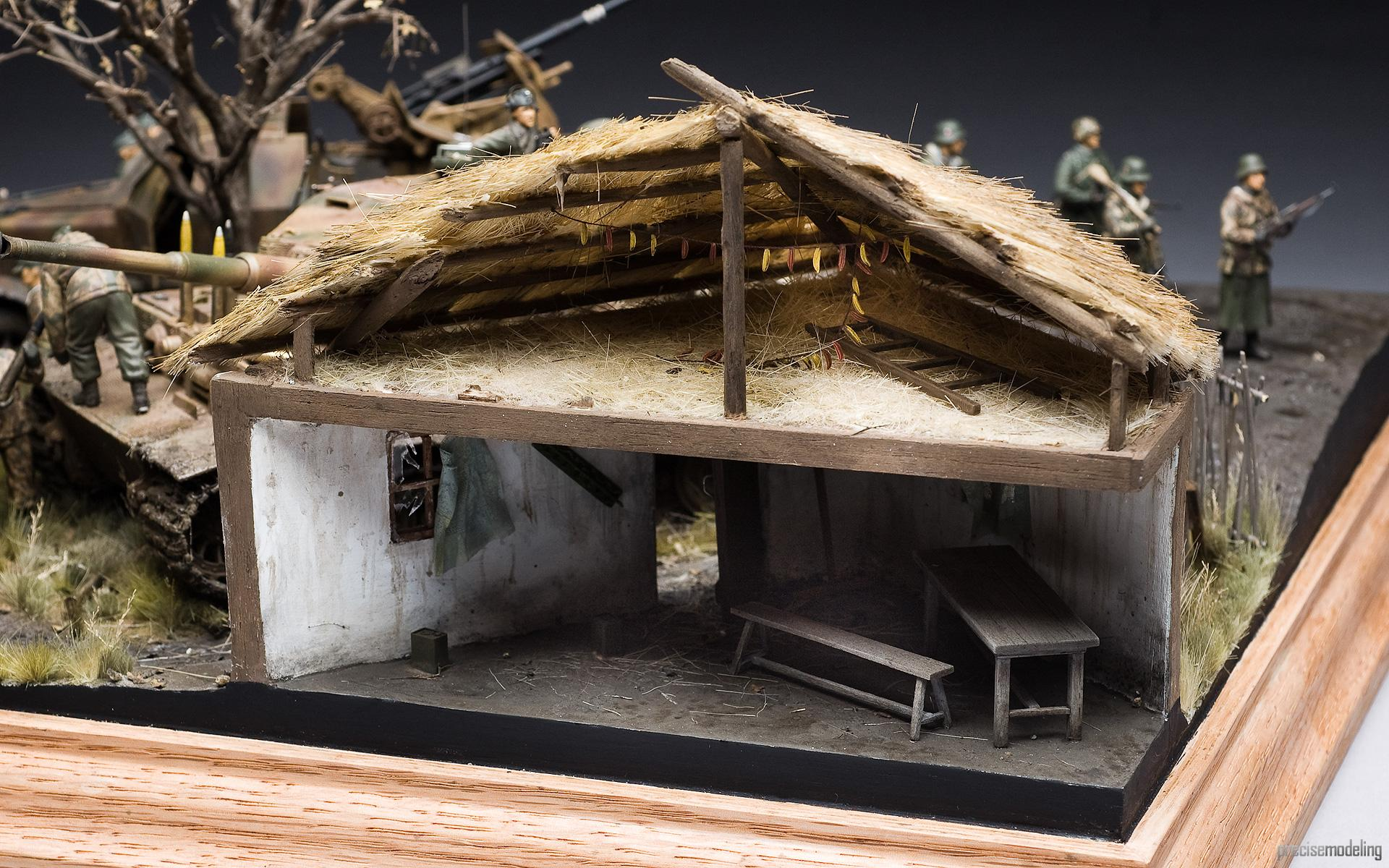 French European House Plans Life Like Historically Correct Wwii Diorama I Like To
