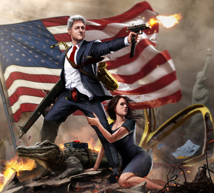 American Presidents & Icons By Jason Heuser [9 Pics]
