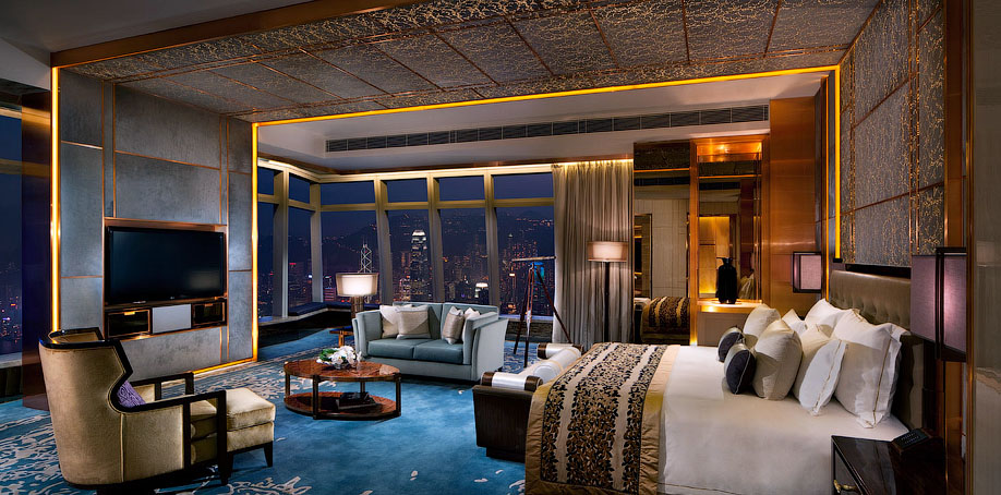 The tallest hotel in the world 17 pics i like to waste for Hotel luxury hong kong
