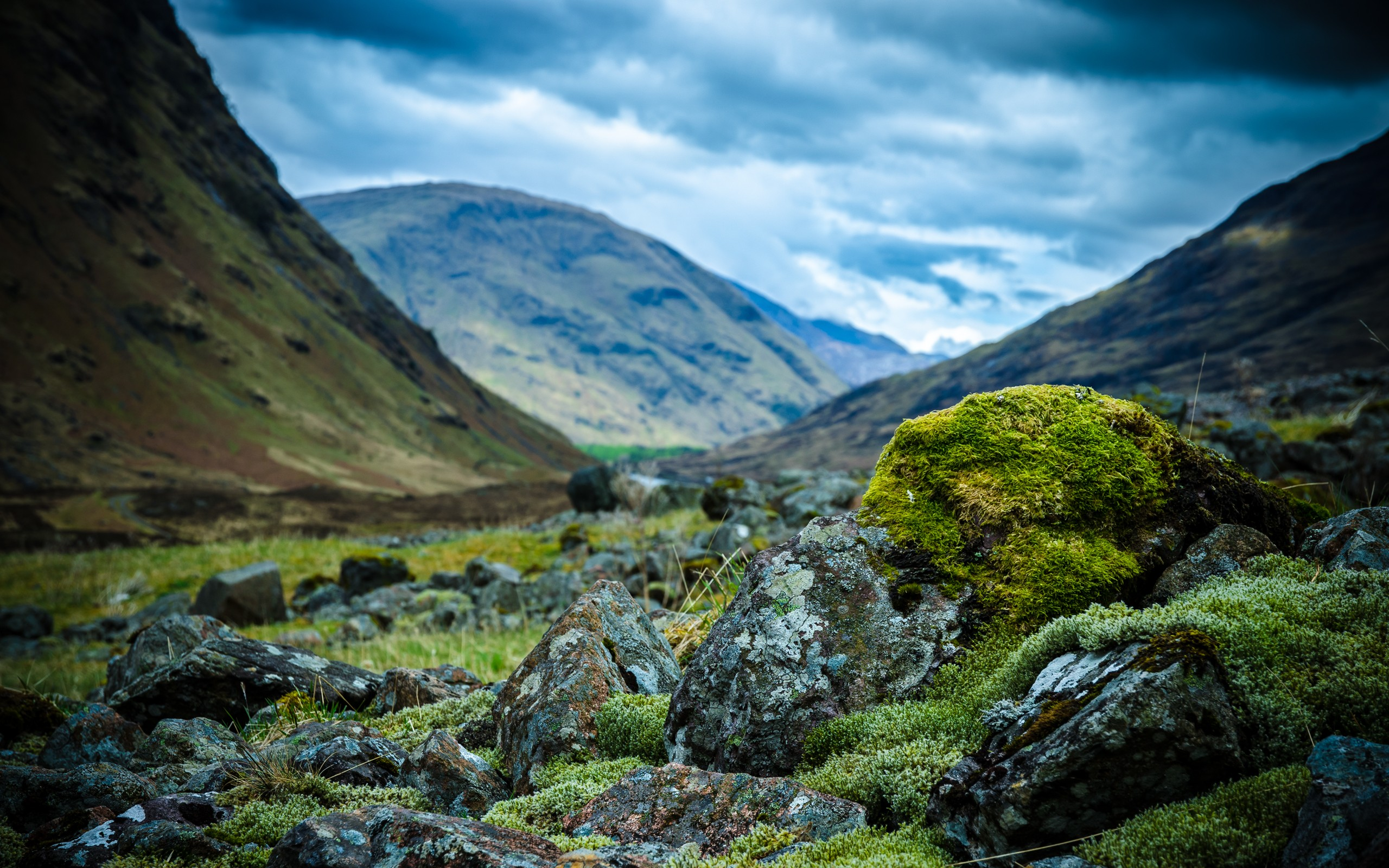 daily wallpaper: scottish highlands | i like to waste my time