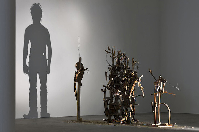 Shadow Art Part - 34: Shadow Art By Tim Noble And Sue Webster