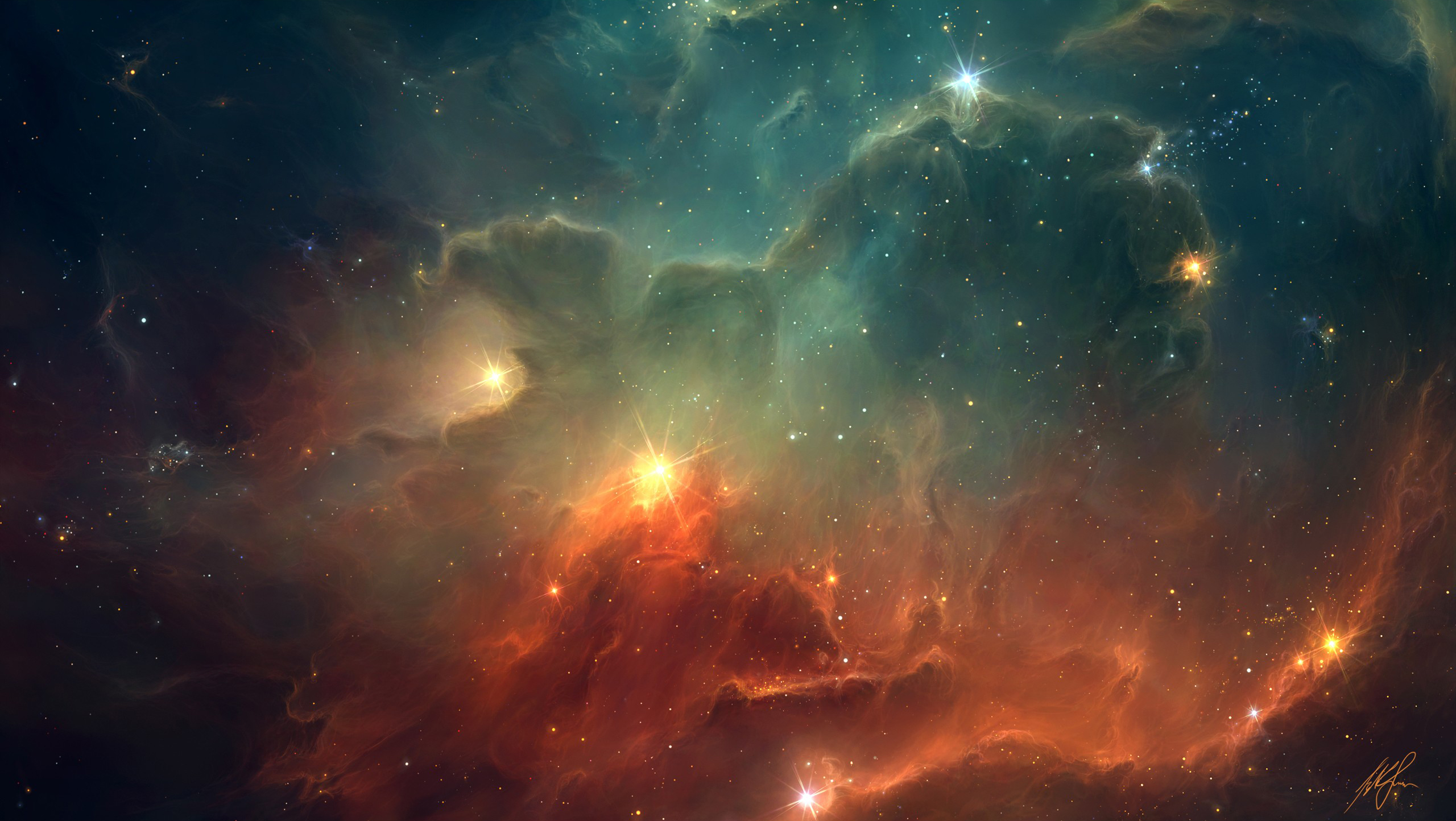 Daily Wallpaper Space Art