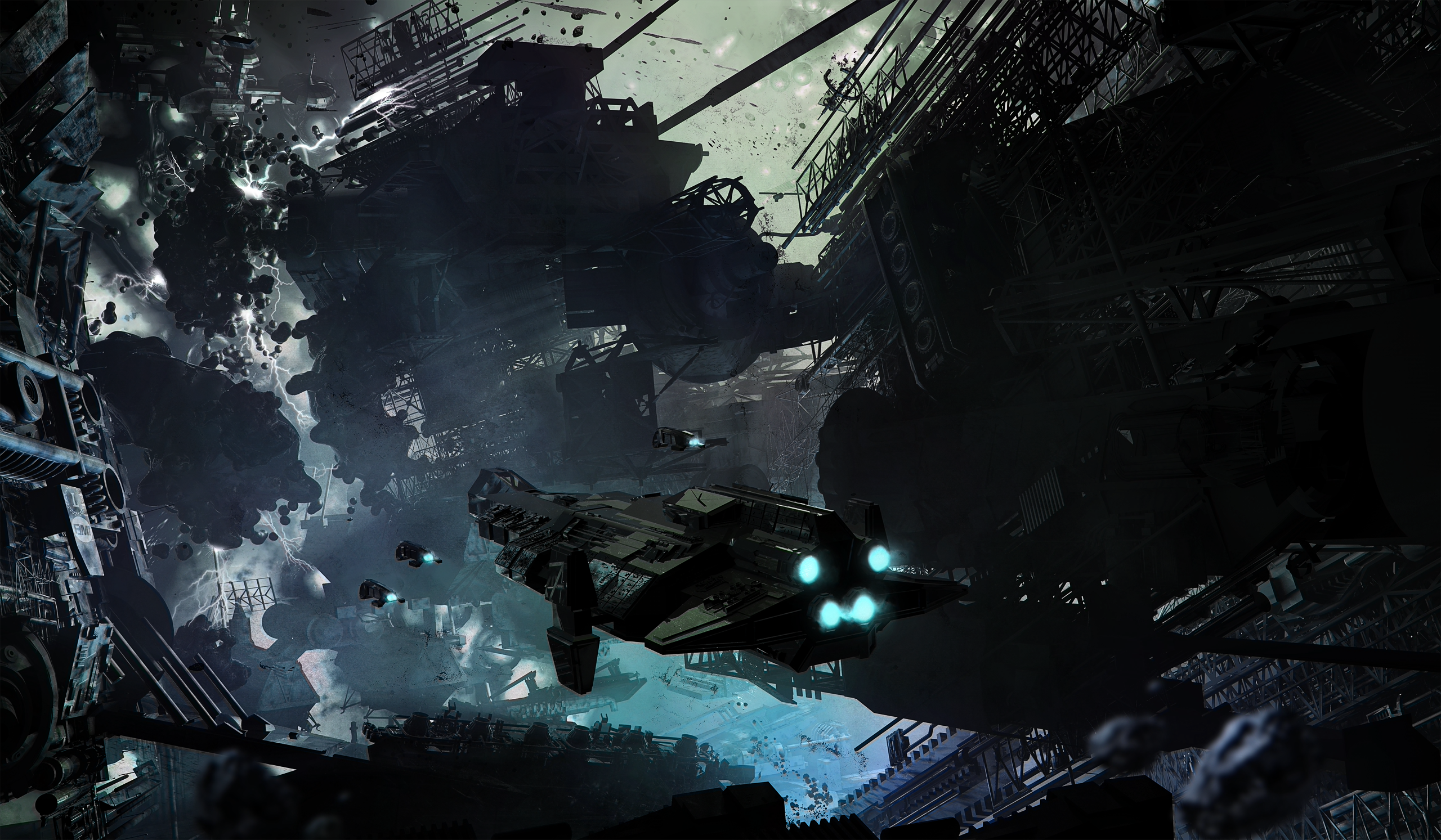 i won't let you go_Great Sci-Fi Art by Finnian MacManus (17) | I Like To Waste My Time