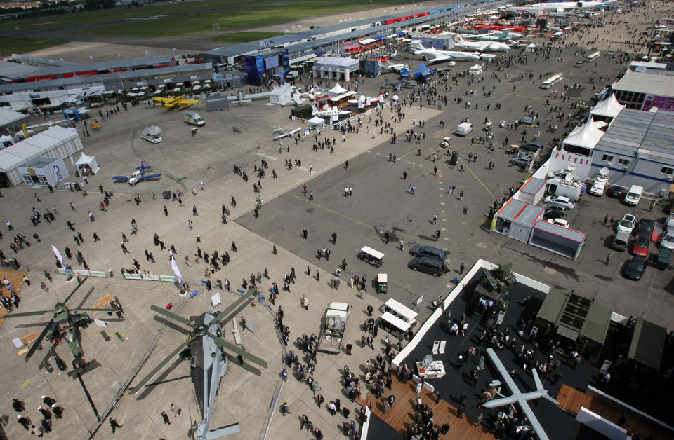 Thousands of people attend this airshow and it is definitely worth