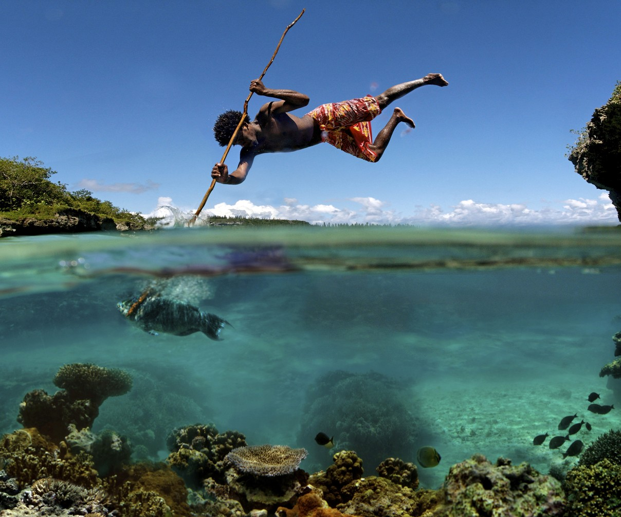 Spear fishing style i like to waste my time for Big island fishing