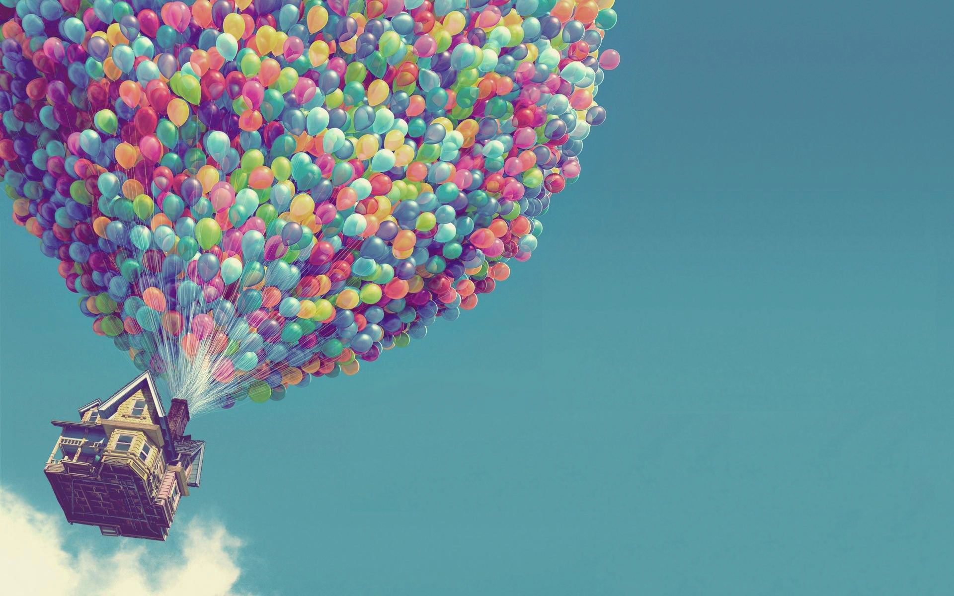 daily wallpaper: up movie | i like to waste my time
