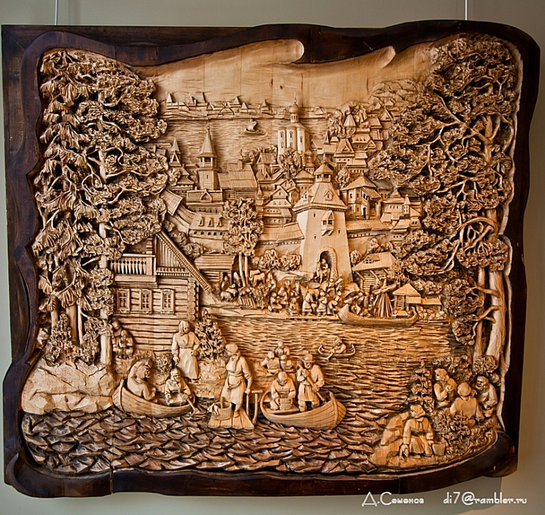 A russian wood carver s art i like to waste my time
