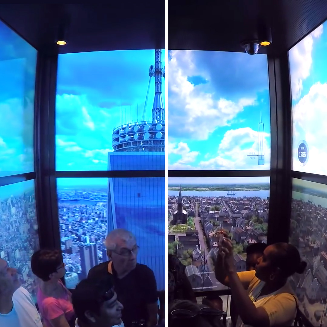 One Of A Kind Elevator Ride One World Observatory At World Trade
