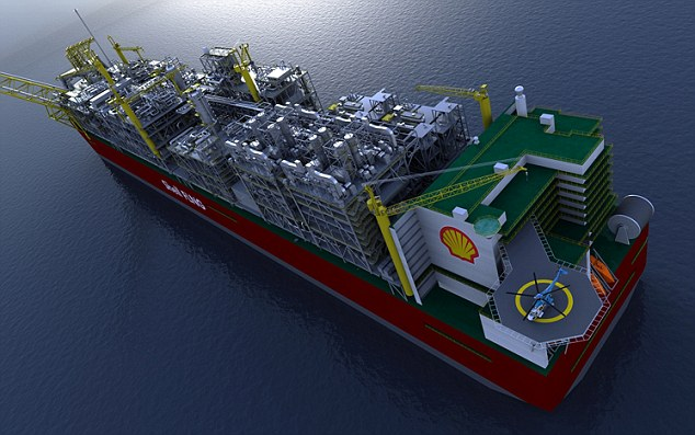 shell mobile refinery largest boat in the world i like to waste