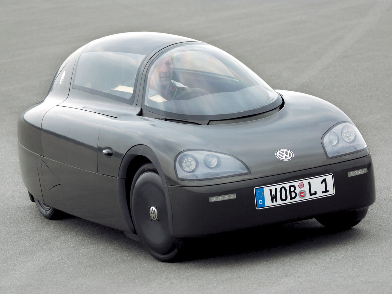 Volkswagen S Single Seater 1 Liter Car Made Using Space